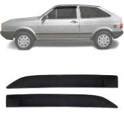 Calha de Chuva Esportiva Volkswagen Parati 1987 88 89 90 91 92 93 94 2 Portas Fumê