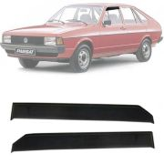 Calha de Chuva Esportiva Volkswagen Passat 1975 Até 1990 2 Portas Fumê