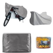 Capa Cobrir Bike Bicicleta Impermeável Forro Central Elástico