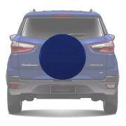 Capa de Estepe Rígida Ford Ecosport 2013 14 15 16 17 18 Azul Maral