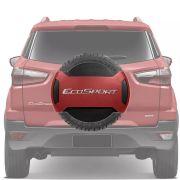 Capa de Estepe Rígida Parcial Ford Ecosport 2013 14 15 16 17 18 Laranja Savana