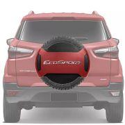 Capa de Estepe Rígida Parcial Ford Ecosport 2013 14 15 16 17 18 Vemelho Arpoador