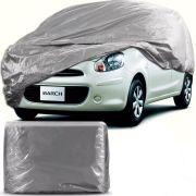 Capa Para Cobrir Carro Forro Impermeável Nissan March Tamanho P