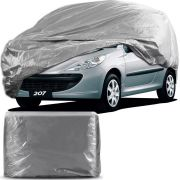 Capa Para Cobrir Carro Forro Impermeável Peugeot 207 Tamanho P