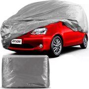 Capa Para Cobrir Carro Forro Impermeável Toyota Etios Tamanho P
