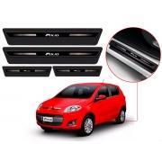 Soleira Sofisticar Resinada Com Blackout Fiat Palio 2012 13 14 15 16 17 8 Peças
