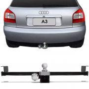 Engate Para Reboque Rabicho Audi A3 1997 Até 2006 Tração 400Kg InMetro