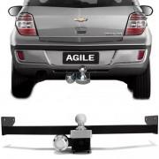 Engate Para Reboque Rabicho Chevrolet Agile 2014 15 Tração 400Kg InMetro