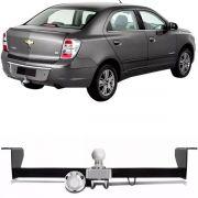 Engate Para Reboque Rabicho Chevrolet Cobalt 2011 12 13 14 15 Tração 400Kg InMetro