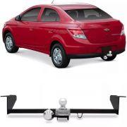 Engate Para Reboque Rabicho Chevrolet Prisma Ls Lt Ltz 1.0 1.4 2013 14  15 16 17 18 19 Tração 400Kg InMetro
