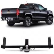 Engate Para Reboque Rabicho Chevrolet S10 Pick Up High Country Cabine Simples 2012 Até 2015 / Cabine Dupla 2012 até 2017 Tração 400Kg InMetro