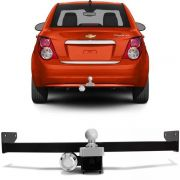 Engate Para Reboque Rabicho Chevrolet Sonic Sedan 2012 13 14 15 Tração 400Kg InMetro