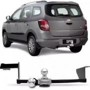 Engate Para Reboque Rabicho Chevrolet Spin Lt Ltz 2012 13 14 15 16 17 Tração 400Kg InMetro