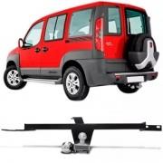 Engate Para Reboque Rabicho Fiat Doblo Adventure 2006 Até 2016 Tração 400Kg InMetro