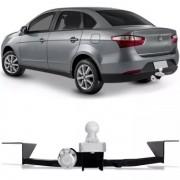 Engate Para Reboque Rabicho Fiat Grand Siena 2012 13 14 15 16 17 Tração 400Kg InMetro