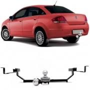 Engate Para Reboque Rabicho Fiat Linea 2008 Até 2014 Tração 400Kg InMetro