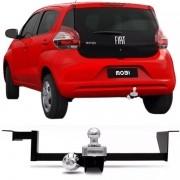 Engate Para Reboque Rabicho Fiat Mobi 1.0 2017 18 Tração 400Kg InMetro