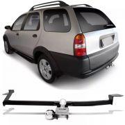 Engate Para Reboque Rabicho Fiat Palio Adventure Weekend 1996 97 98 99 00 01 02 03 Tração 400Kg InMetro