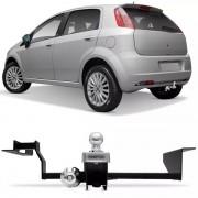 Engate Para Reboque Rabicho Fiat Punto 2007 08 09 10 11 12 13 14 15 16 17 Tração 400Kg InMetro