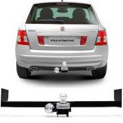 Engate Para Reboque Rabicho Fiat Stilo 2007 08 09 10 11 Tração 400Kg InMetro
