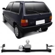Engate Para Reboque Rabicho Fiat Uno Smart Fire 2000 01 02 03 Tração 400Kg InMetro