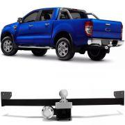 Engate Para Reboque Rabicho Ford Ranger Cs Cd 2013 14 15 16 17 Tração 400Kg InMetro