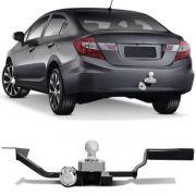 Engate Para Reboque Rabicho Honda Civic 2012 13 14 15 16 Tração 400Kg InMetro