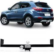 Engate Para Reboque Rabicho Hyundai Creta 2017 18 19 20 Tração 400Kg InMetro