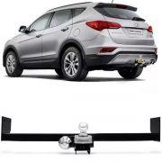 Engate Para Reboque Rabicho Hyundai Santa Fé 2014 15 16 17 Tração 400Kg InMetro