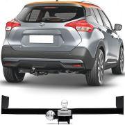 Engate Para Reboque Rabicho Nissan Kicks 2017 2018 2019 2020 2021 2022 Tração 400Kg InMetro