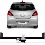 Engate Para Reboque Rabicho Nissan Tiida 2010 11 12 Tração 400Kg InMetro