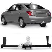 Engate Para Reboque Rabicho Nissan Versa 2012 13 14 15 16 17 18 19 Tração 400Kg InMetro