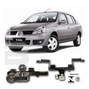 Engate Para Reboque Rabicho Renault Clio Sedan Até 2014 Tração 400Kg InMetro