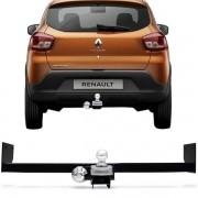 Engate Para Reboque Rabicho Renault Kwid 2018 Em Diante Tração 400Kg InMetro