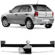 Engate Para Reboque Rabicho Volkswagen Gol G3 1999 Até 2005 / G4 Trend 2006 Até 2014 Tração 400Kg InMetro