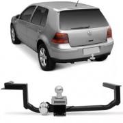 Engate Para Reboque Rabicho Volkswagen Golf Gti Generation 1999 Até 2011 Tração 400Kg InMetro
