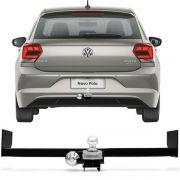 Engate Para Reboque Rabicho Volkswagen Polo 2020 Tração 400Kg InMetro
