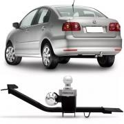 Engate Para Reboque Rabicho Volkswagen Polo Sedan 2003 Até 2014 Tração 400Kg InMetro