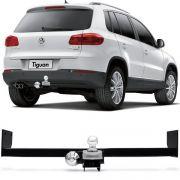 Engate Para Reboque Rabicho Volkswagen Tiguan 2010 11 12 13 14 15 16 17 Tração 400Kg InMetro