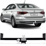 Engate Para Reboque Rabicho Volkswagen Virtus 2018 Em Diante Tração 400Kg InMetro