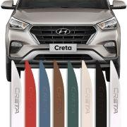 Friso Lateral Baixo Relevo Hyundai Creta 2017 18 19