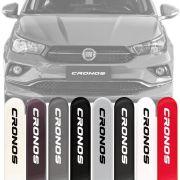 Friso Lateral Na Cor Original Fiat Cronos 2018 19