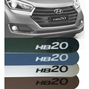 Friso Lateral Hyundai Hb20 2016 17 18 19 Cor Original 6 Centimetros