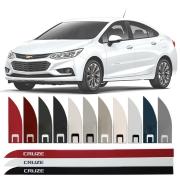 Friso Lateral na Cor Original Chevrolet Cruze 2012 13 14 15 16 17 18 19