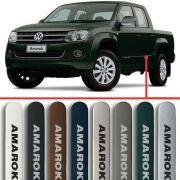 Friso Lateral na Cor Original Volkswagen Amarok 2010 11 12 13 14 15 16 17 18