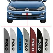 Friso Lateral na Cor Original Volkswagen Polo 2018 VOLKSWAGEN POLO 2018 /...