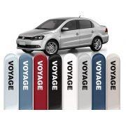 Friso Lateral na Cor Original Volkswagen Voyage 2009 10 11 12 13 14 15 16 17 18