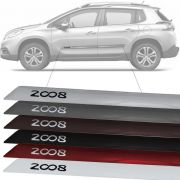 Friso Lateral na Cor Original Peugeot 2008 2015 16 17