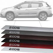 Friso Lateral na Cor Original Peugeot 2008 2015 16 17 18 19