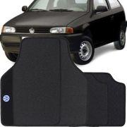 Jogo Tapete Pvc Universal Impermeável Volkswagen Gol G2 G3 G4 1995 a 2008